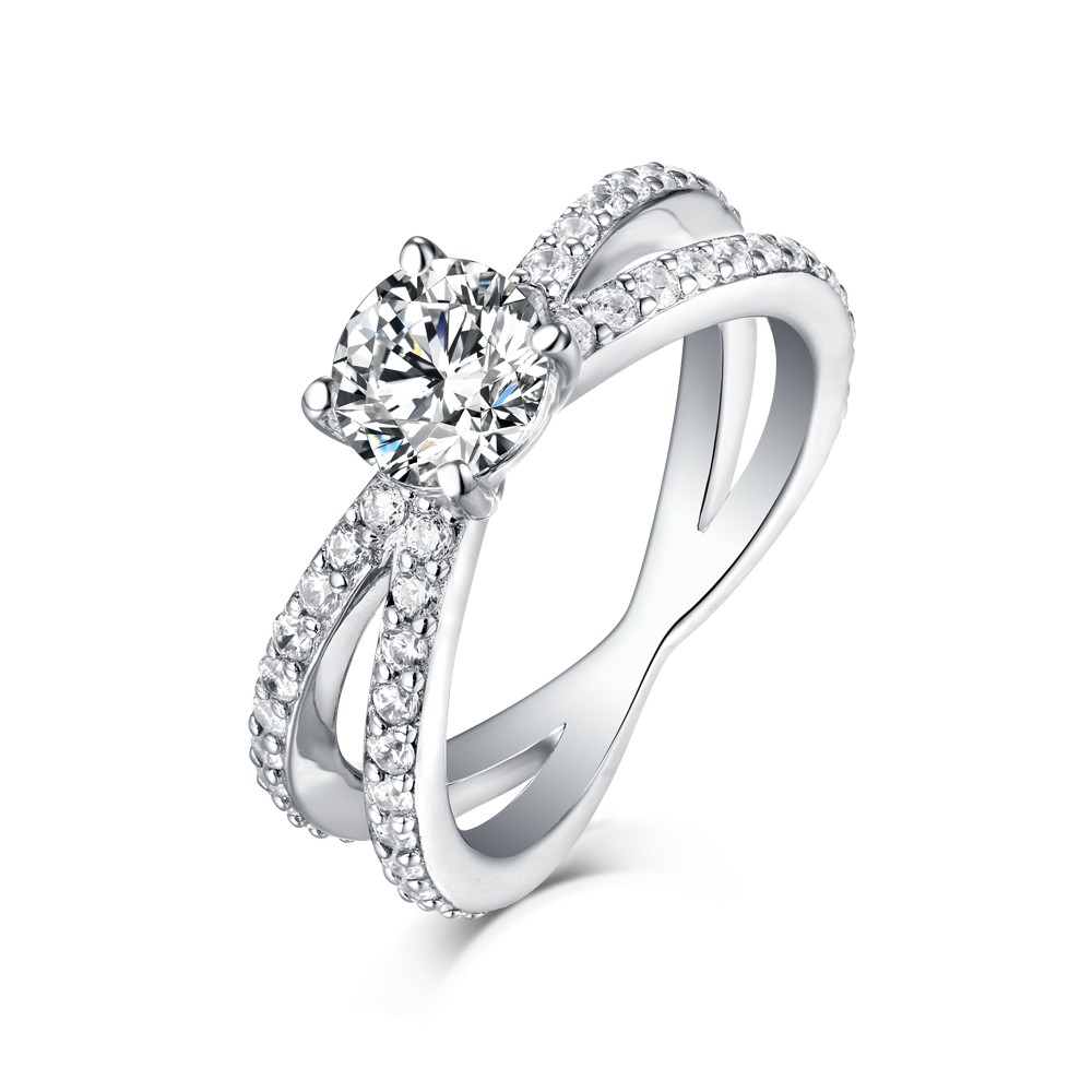 engagement products size plated band stimulant diamond ring cz silver sterling gold rings