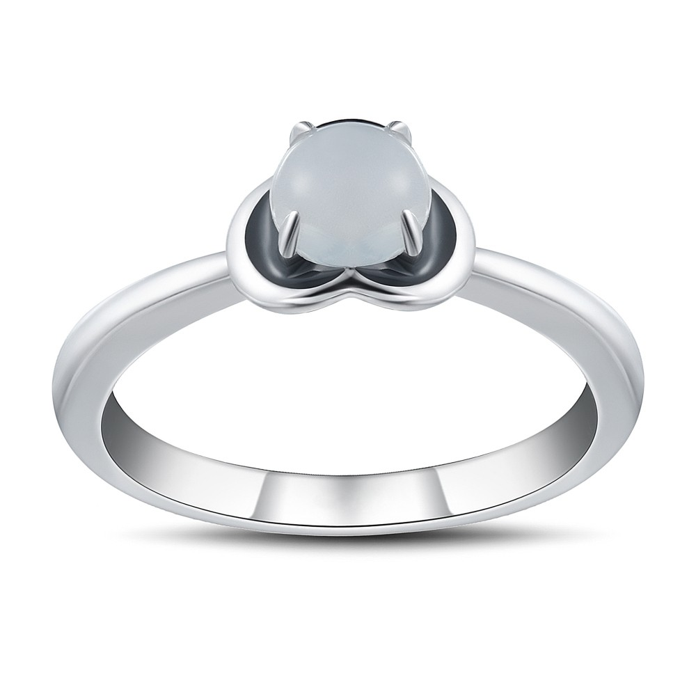 b8420e066e Round Cut Gemstone 925 Sterling Silver Promise Rings For Her - Tinnivi  Jewelry