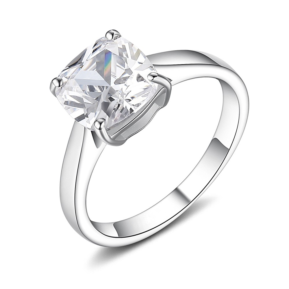 Promise Rings For Her Under 100 Cushion Cut Gemstone 9...