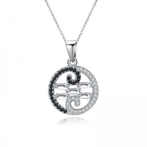 Tinnivi Charming Sterling Silver Pendant Necklace