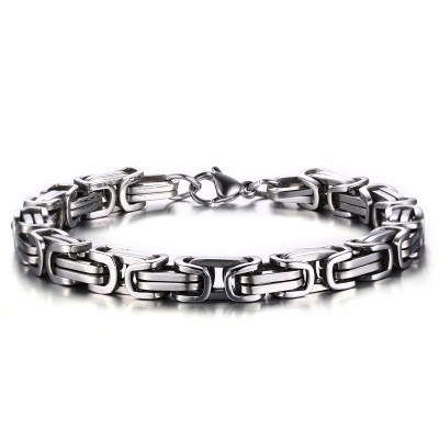 Cool Chain Design Titanium Steel Bracelet