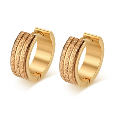 Gold 925 Sterling Silver Earrings