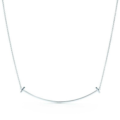 Tinnivi Sterling Silver Smile Necklace