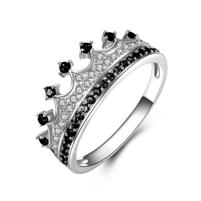 Tinnivi 925 Sterling Silver Crown Ring For Her