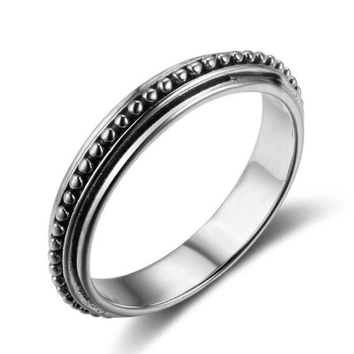 Tinnivi Fashion Pearl Sterling Sliver Womens Ring