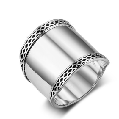 Tinnivi Bali Design Sterling Silver Ring