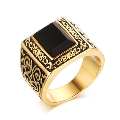 scrollwork band natural double unique agate wedding black filigree halloween item ring engagement gold skull white rings