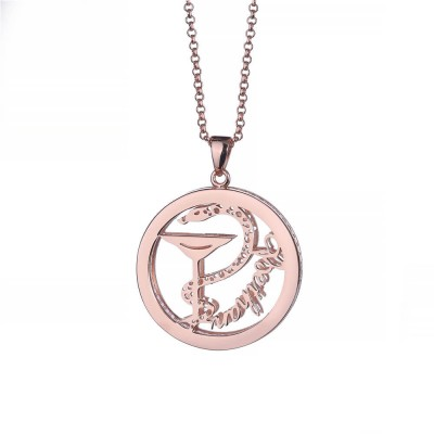 Extremely Suspicious Personalized Pendant 925 Sterling Silver Necklace