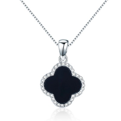 Black Clover 925 Sterling Silver Necklace