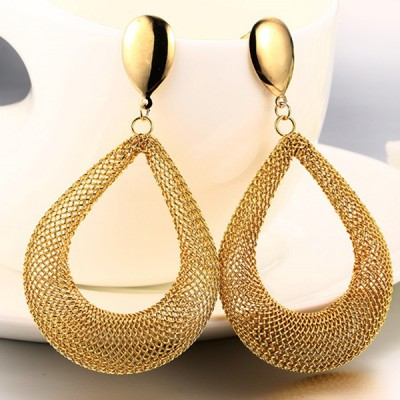 Nice Gold 925 Sterling Silver Earrings