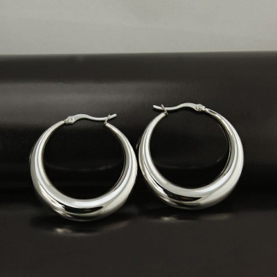 Shining Silver 925 Sterling Silver Earrings