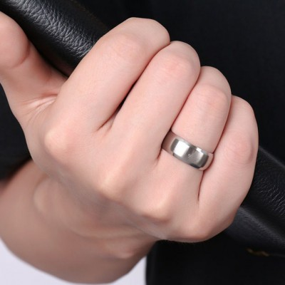 Tinnivi Men Stainless Steel Fraternal Order Emblem Ring