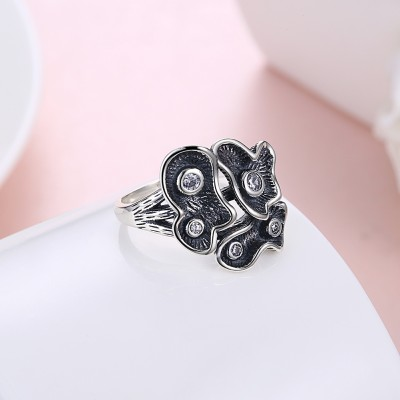 Tinnivi Fashion Sterling Silver Ring